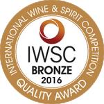 IWSC2016 Bronze Medal